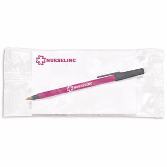BIC Round Stic Pen w/ 5