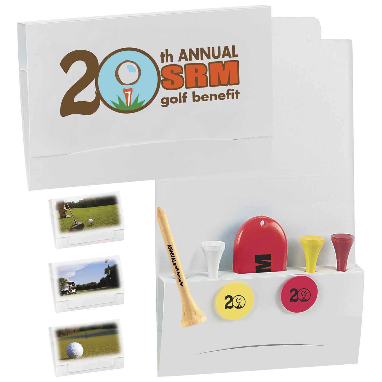 4-2-1 Golf Tee Packet w/ 2 3/4