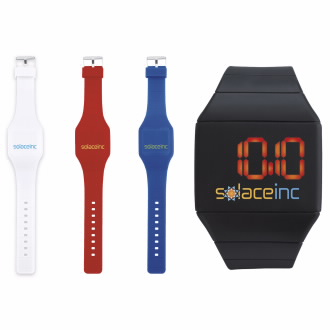 Futuristic Digital Watch - 1 Colour Imprint