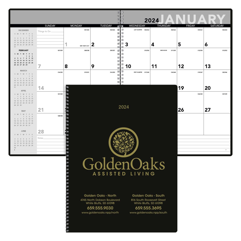 Triumph Monthly Planner, #8150, 1 Colour Imprint
