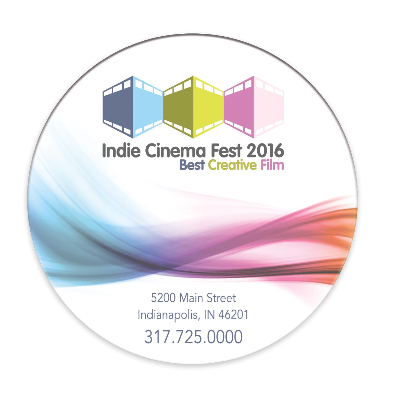 "3"" Circle Magnet - Full Colour Imprint"