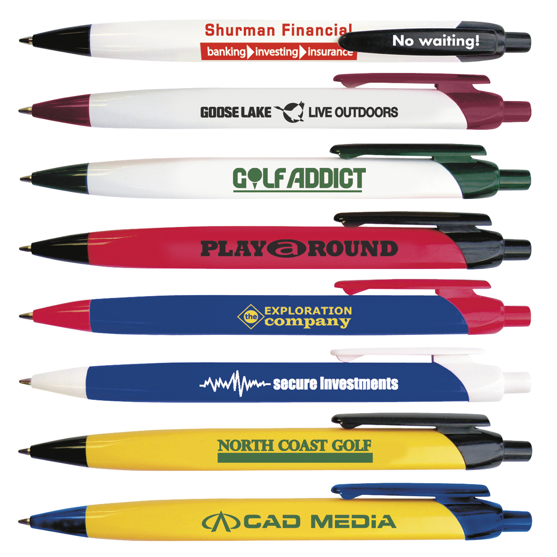 Tri-Ad Plus II Pen - 1 Colour Imprint, #55168