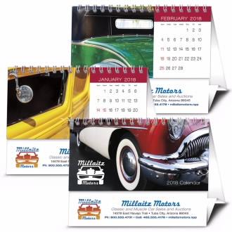 Triumph 6-Sheet Desk Tent Calendar, #447, Full Colour Imprint