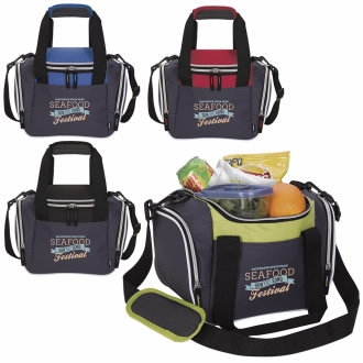 Koozie Lunch Duffel Kooler Bag - 1 Colour Imprint