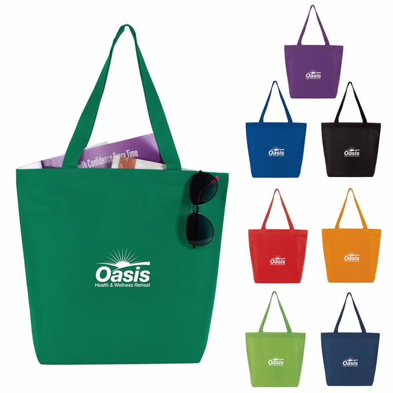 GoodValue Non-Woven Convention Tote Bag, #15919, 1 Colour Imprint