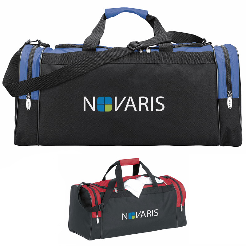 Color Accent Club Duffel Bag - 1 Colour Imprint