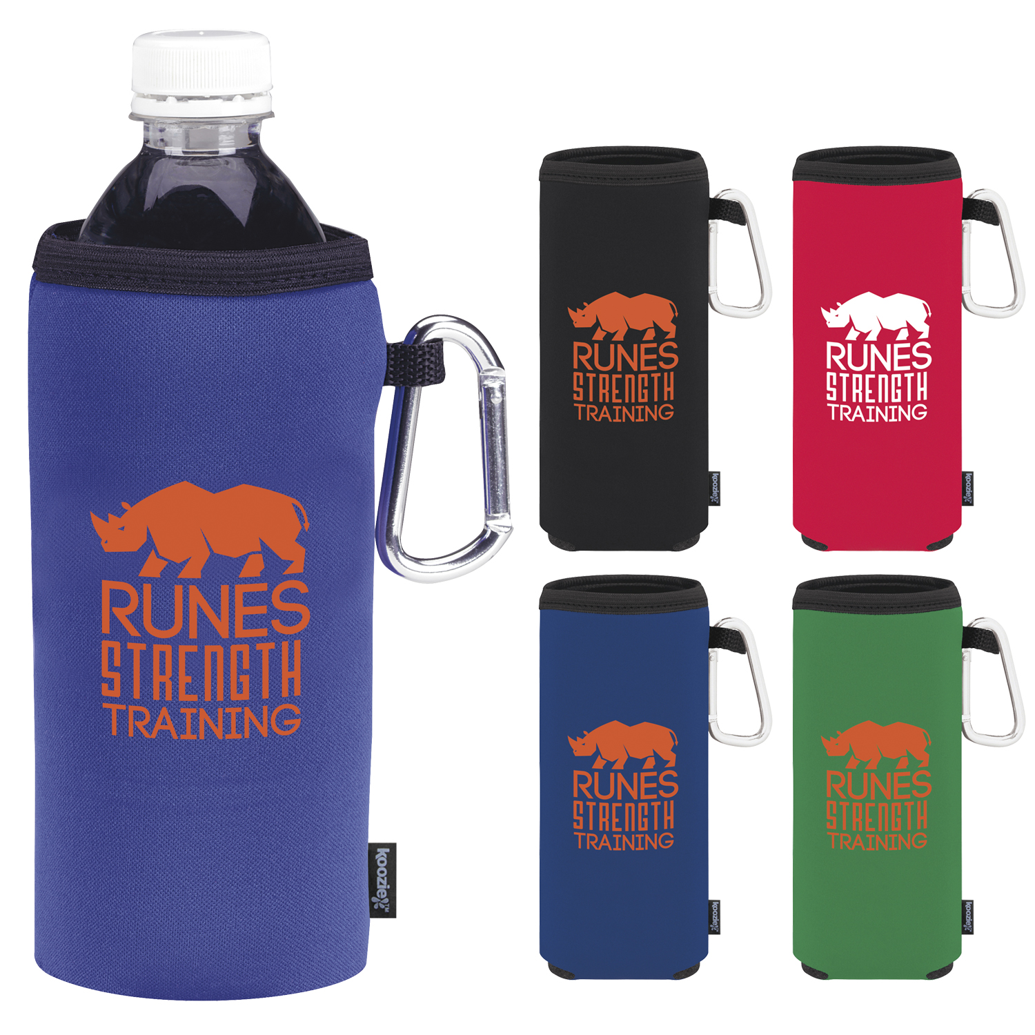 Koozie Collapsible Bottle Kooler - 1 Colour Imprint, #45067
