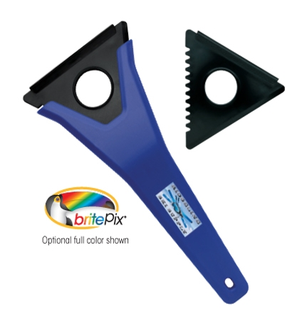 Good Value 3-In-1 Ice Scraper - 1 Colour Imprint