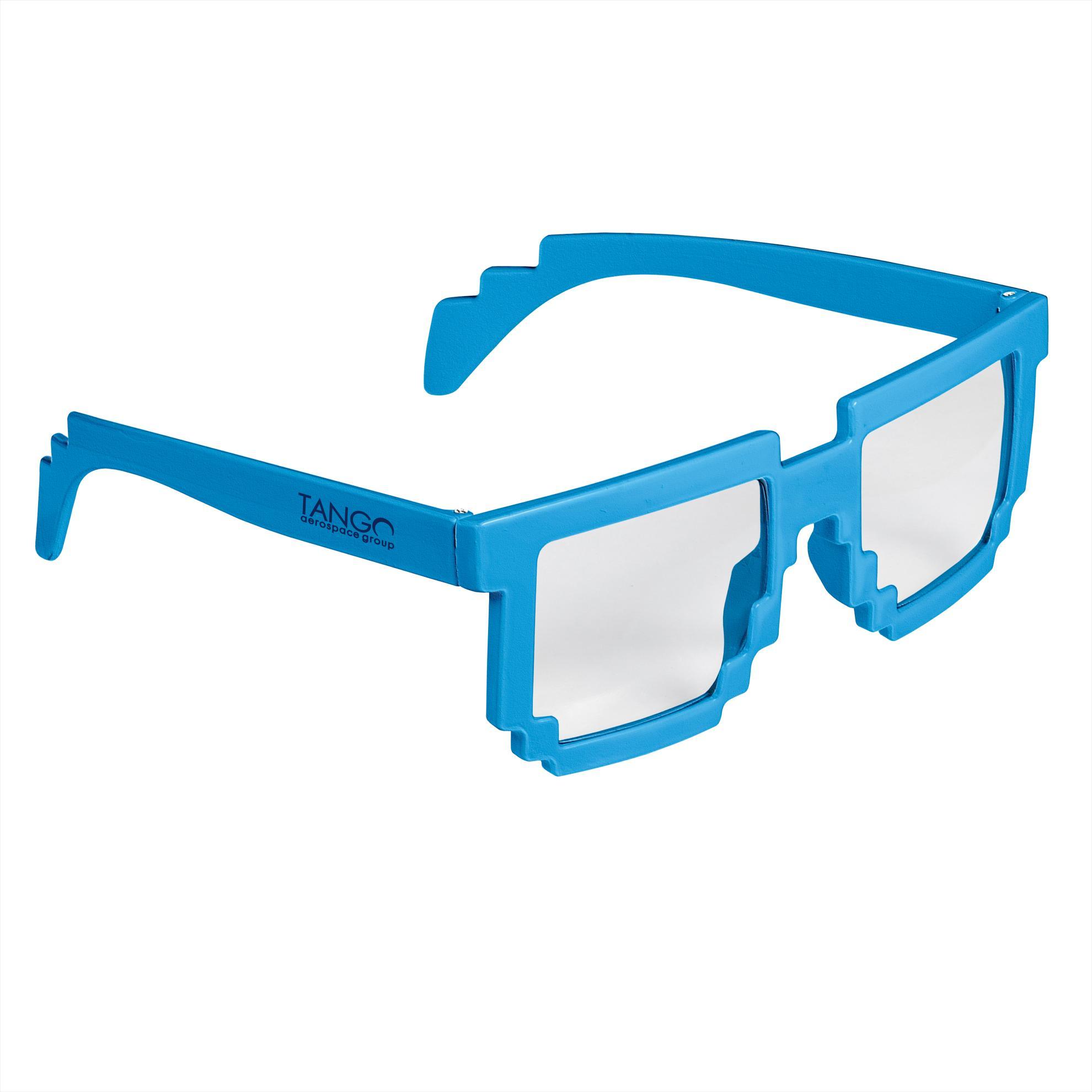 GoodValue Pixel Sunglasses, #26053, 1 Colour Imprint