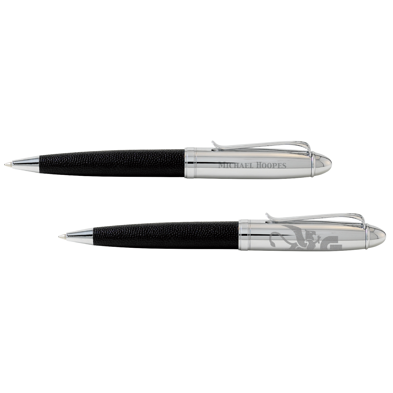 BIC Select Leather Ballpoint Pen - Laser Engraved Imprint, #LB