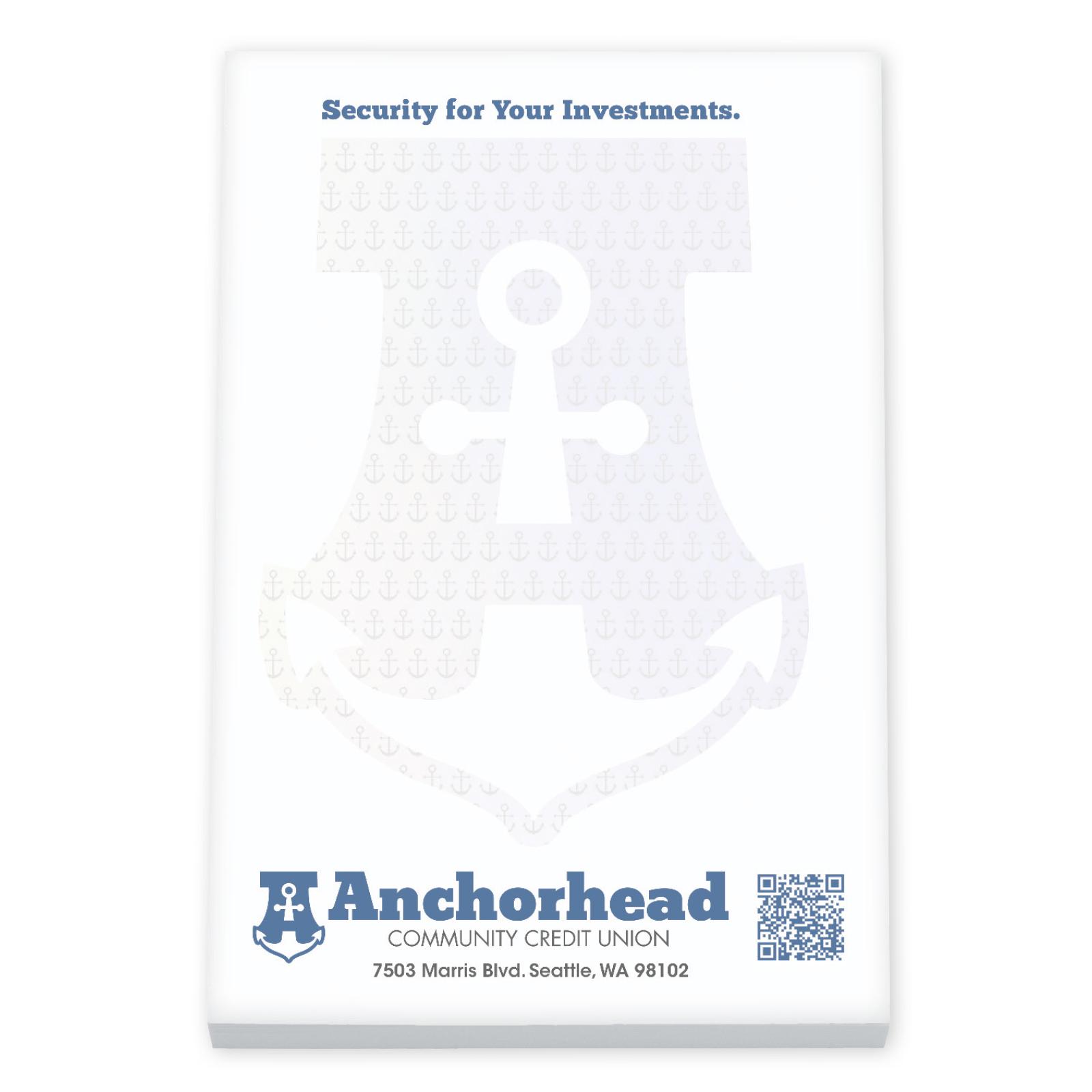 BIC 50 Sheet Non-Adhesive Scratch Pad (6