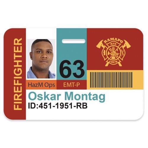 Horizontal Name Badge (3 3/8