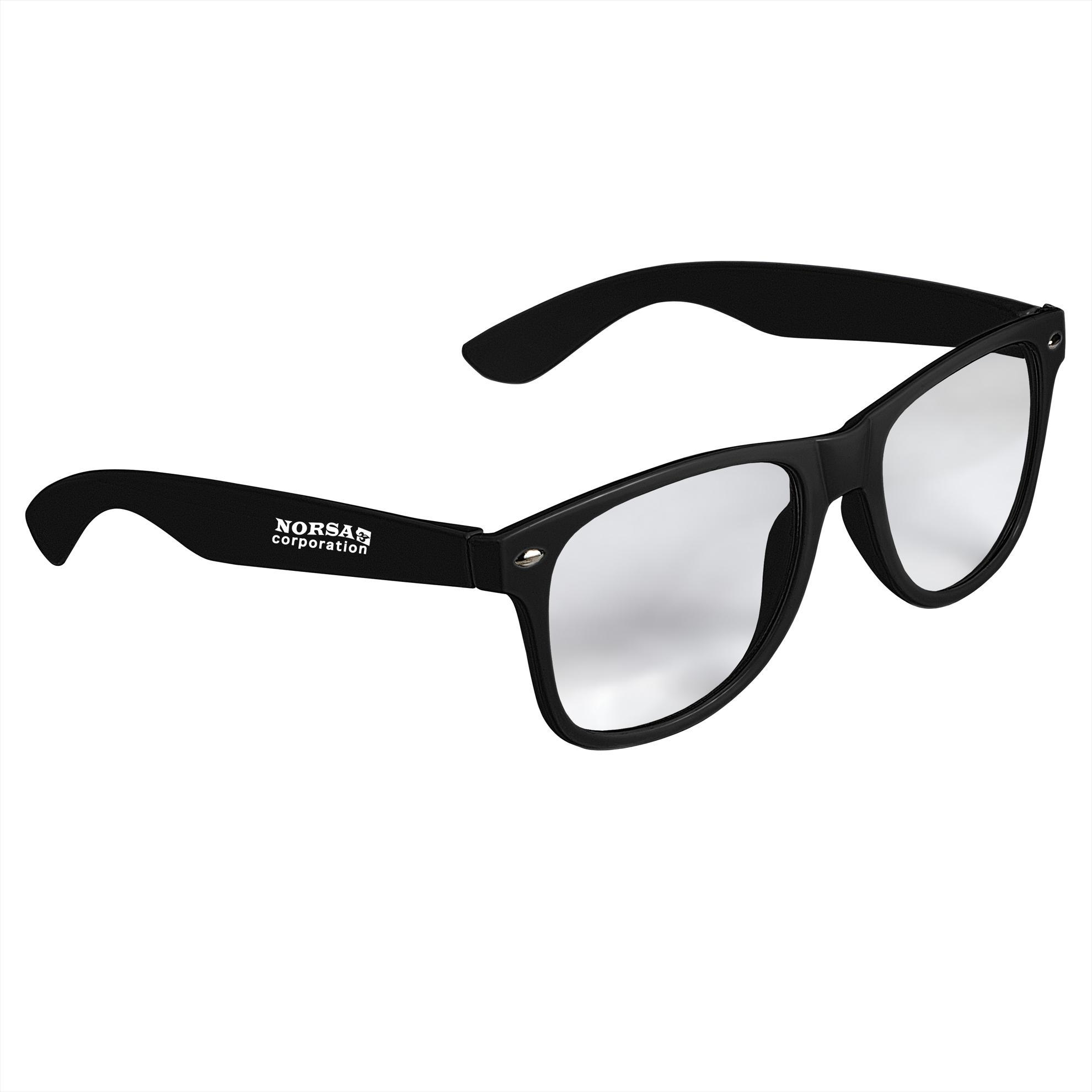 GoodValue Cool Vibes Clear Lens Sunglasses, #26048, 1 Colour Imprint