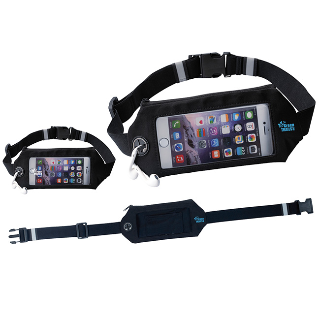 Tech Fitness Belt - 1 Colour Imprint