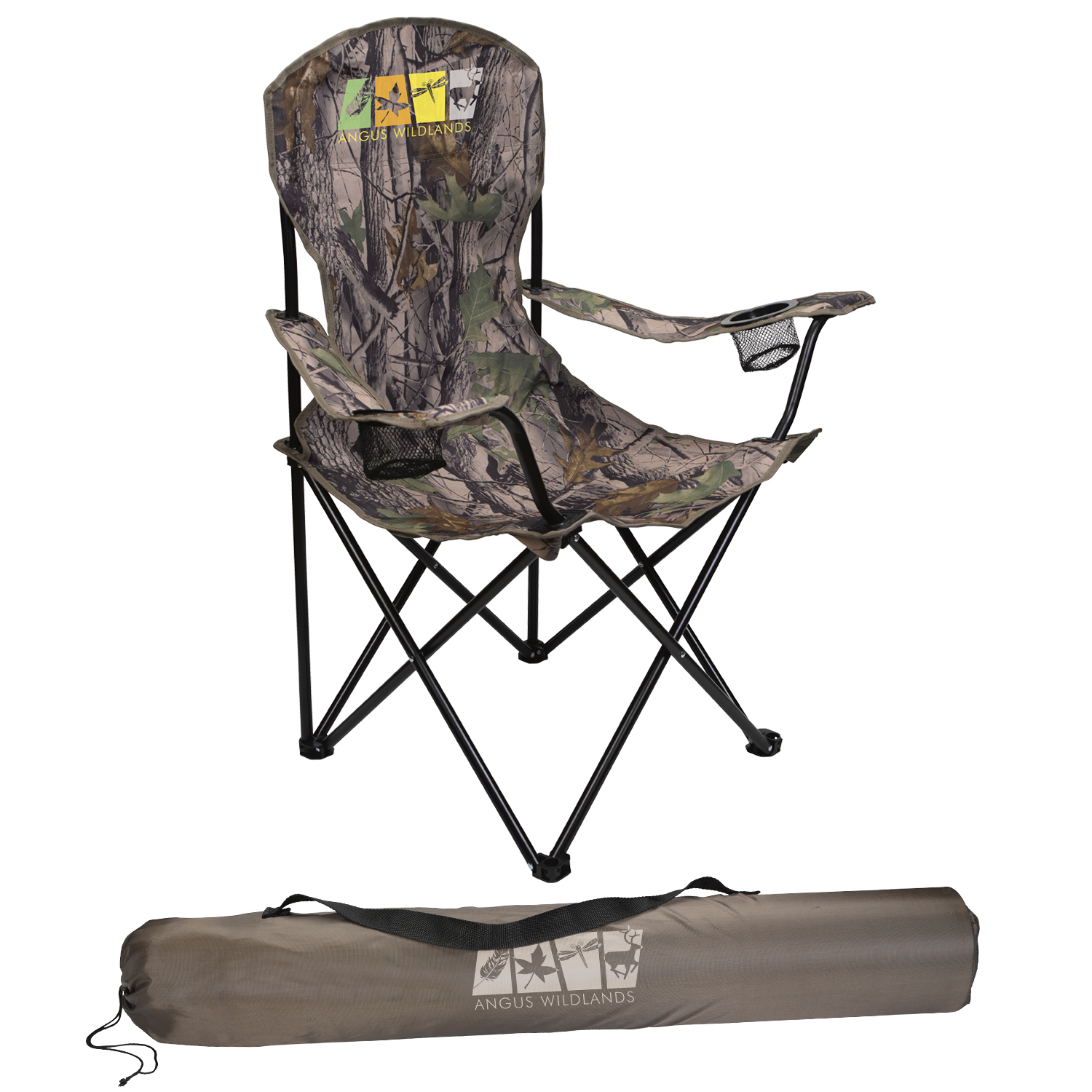 Mossy Oak Captain's Chair - 1 Colour Imprint, #45009C