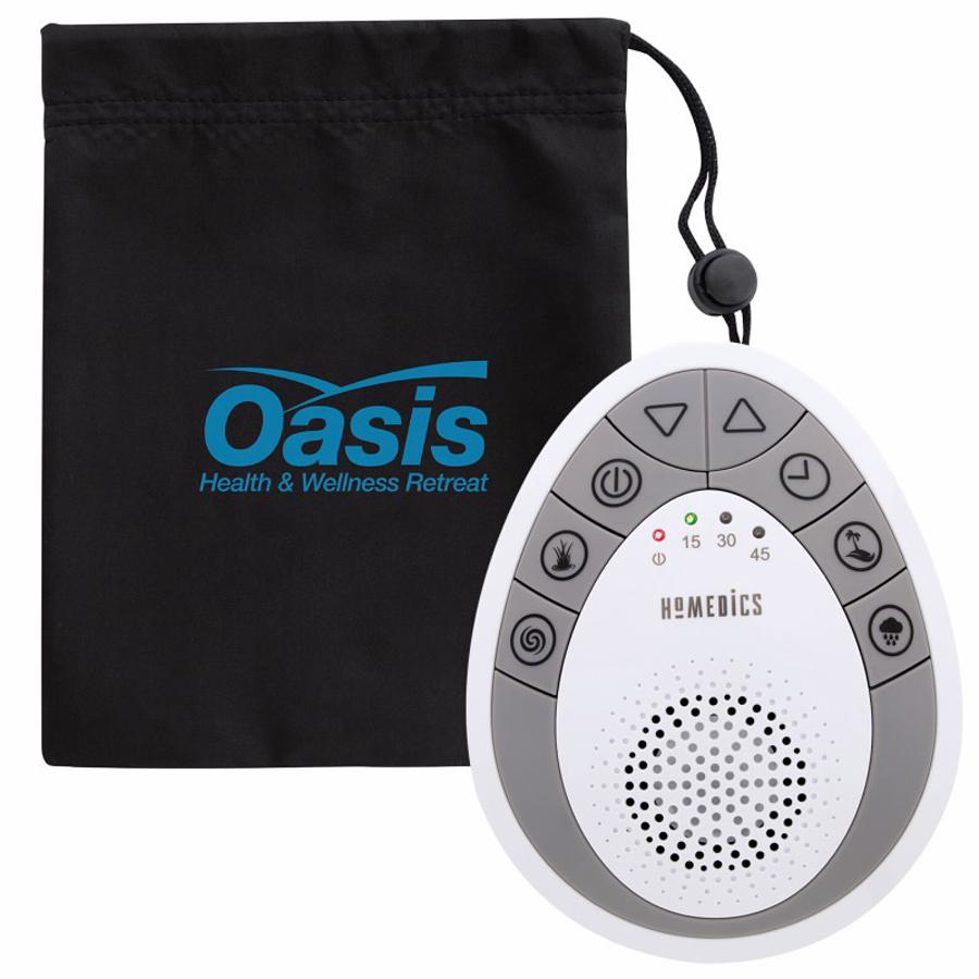 HoMedics Portable Sound Spa - 1 Colour Imprint