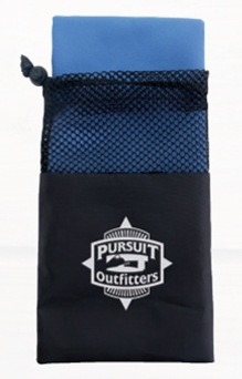 Sports Towel in Bag - 1 Colour Imprint, #41046