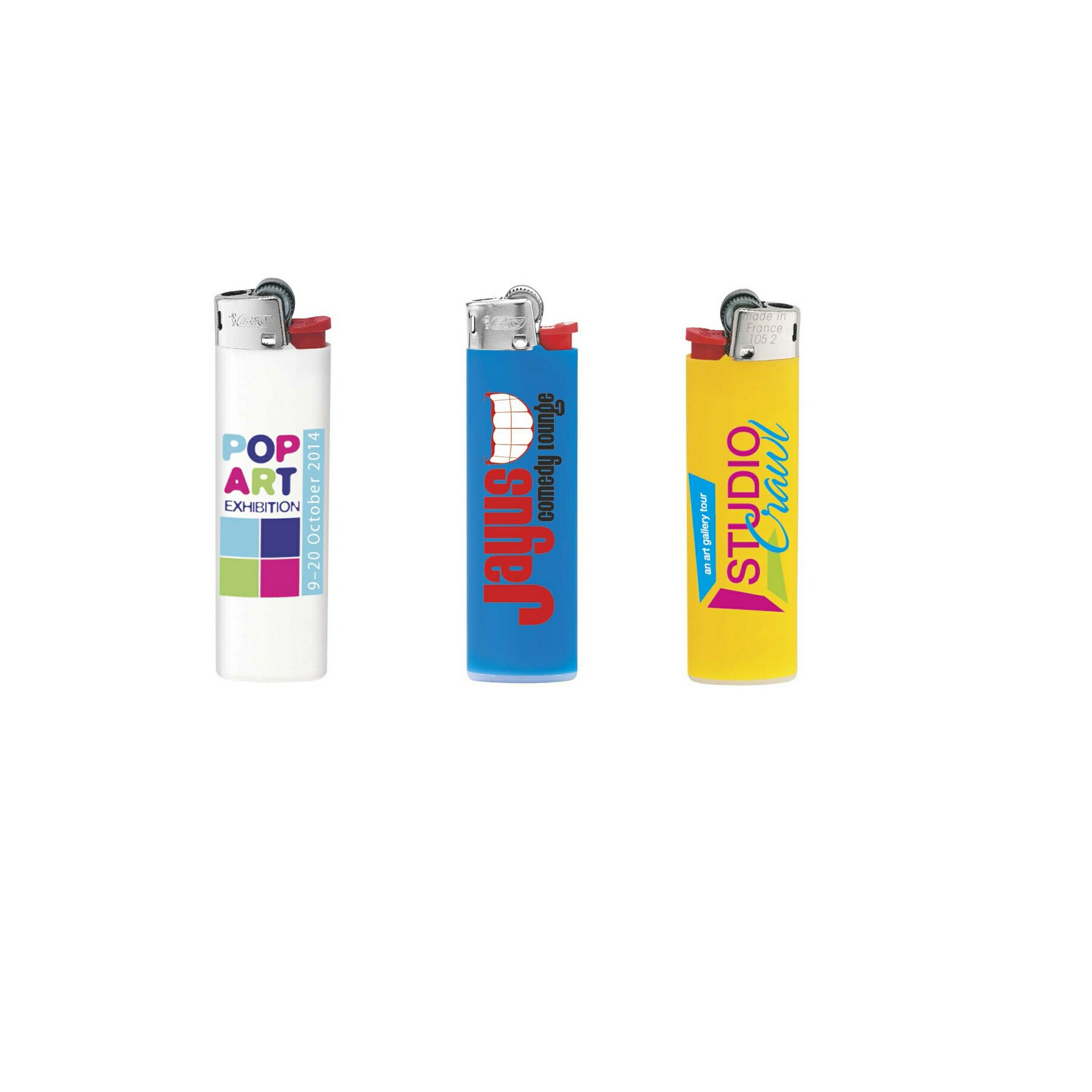 BIC Slim Lighter - 1 Colour Imprint