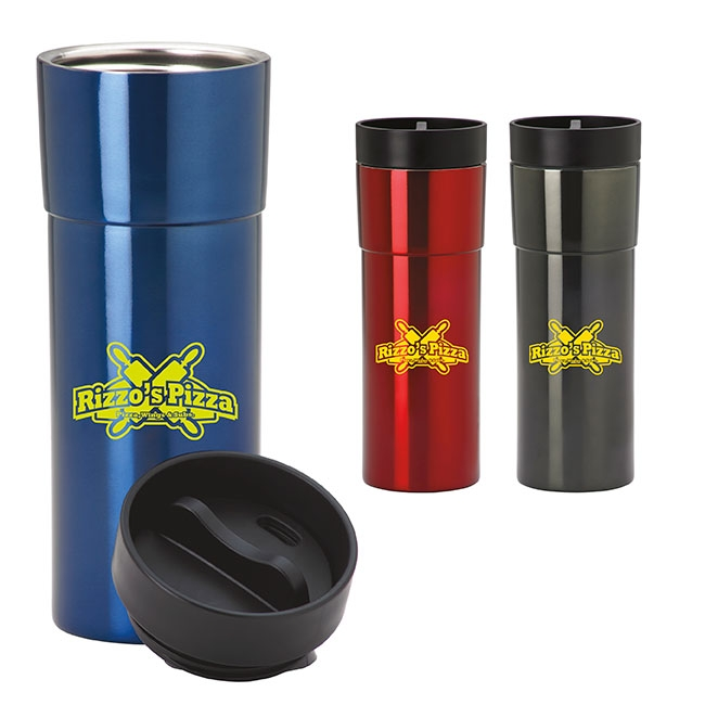 19 Oz. Modern Stainless Tumbler - 1 Colour Imprint