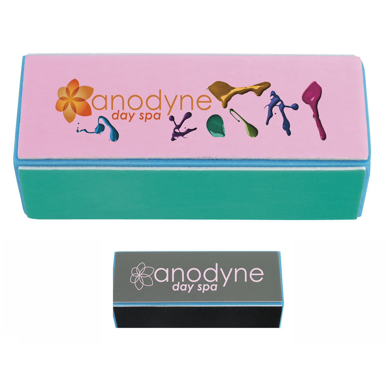 The Manicurist Nail Block - 1 Colour Imprint