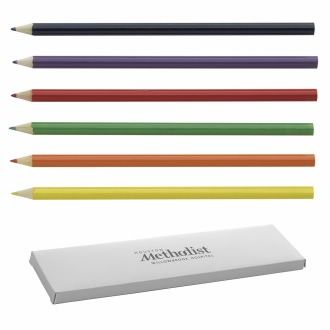 Coloring Pencils, #41072, 1 Colour Imprint