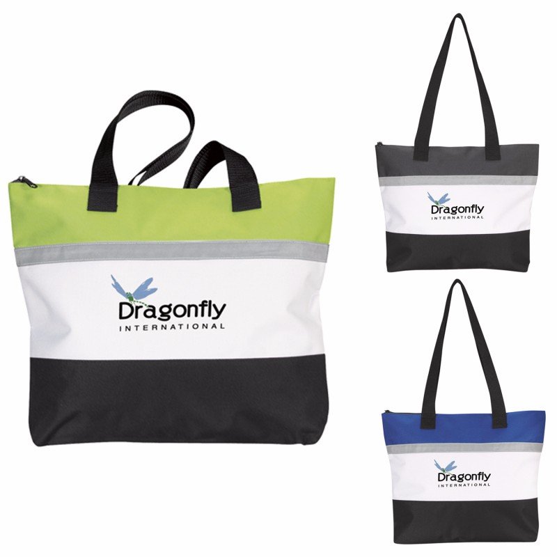 Atchison Standing Room Only Tote Bag, #AP8090, 1 Colour Imprint