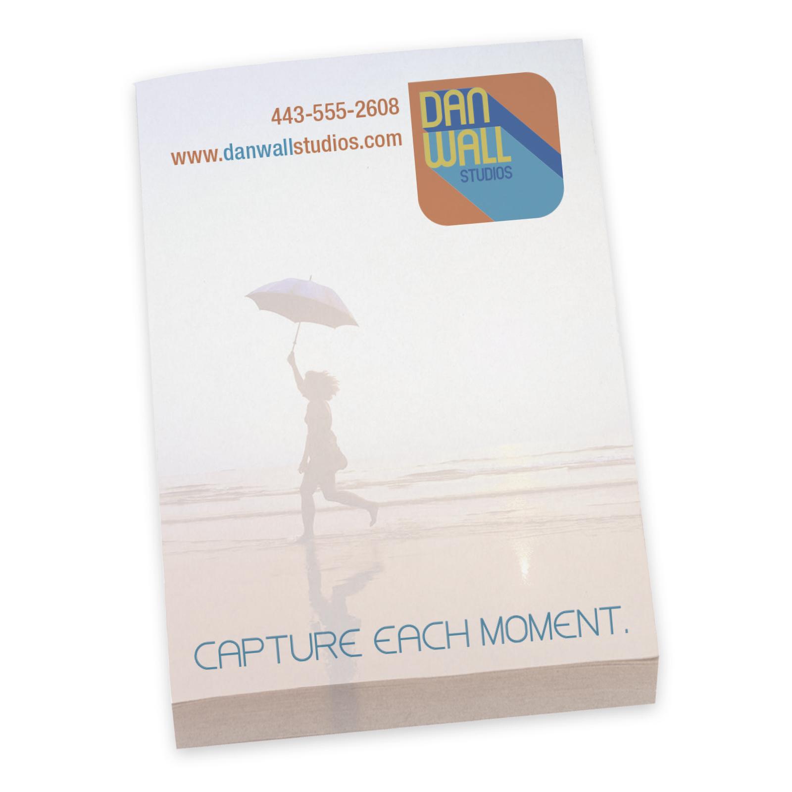 "BIC Adhesive 25 Sheet Notepad (2""x3"") - Full Colour Imprint"