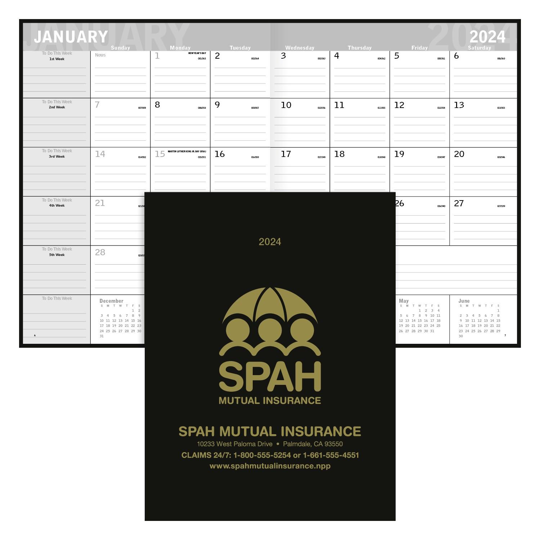 Triumph Classic Monthly Planner, #8203, 1 Colour Imprint