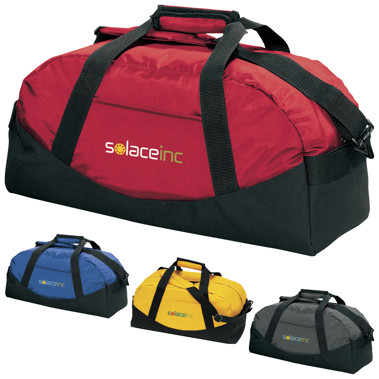 Large Classic Cargo Duffel Bag - 1 Colour Imprint