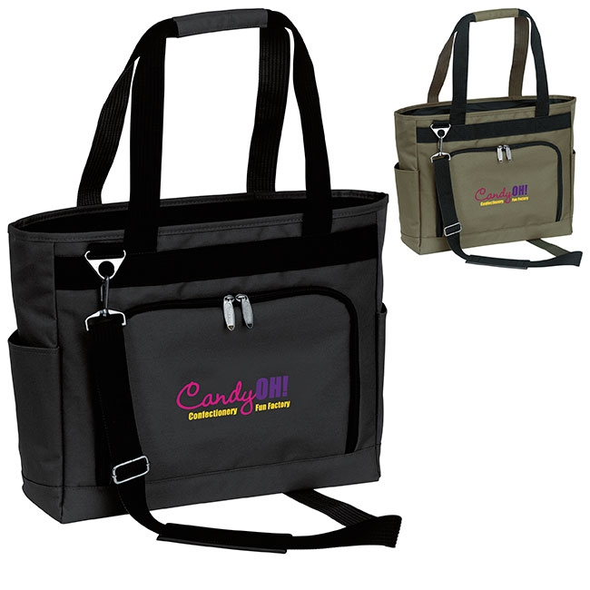 Typhoon Executive Totefolio Bag - 1 Colour Imprint