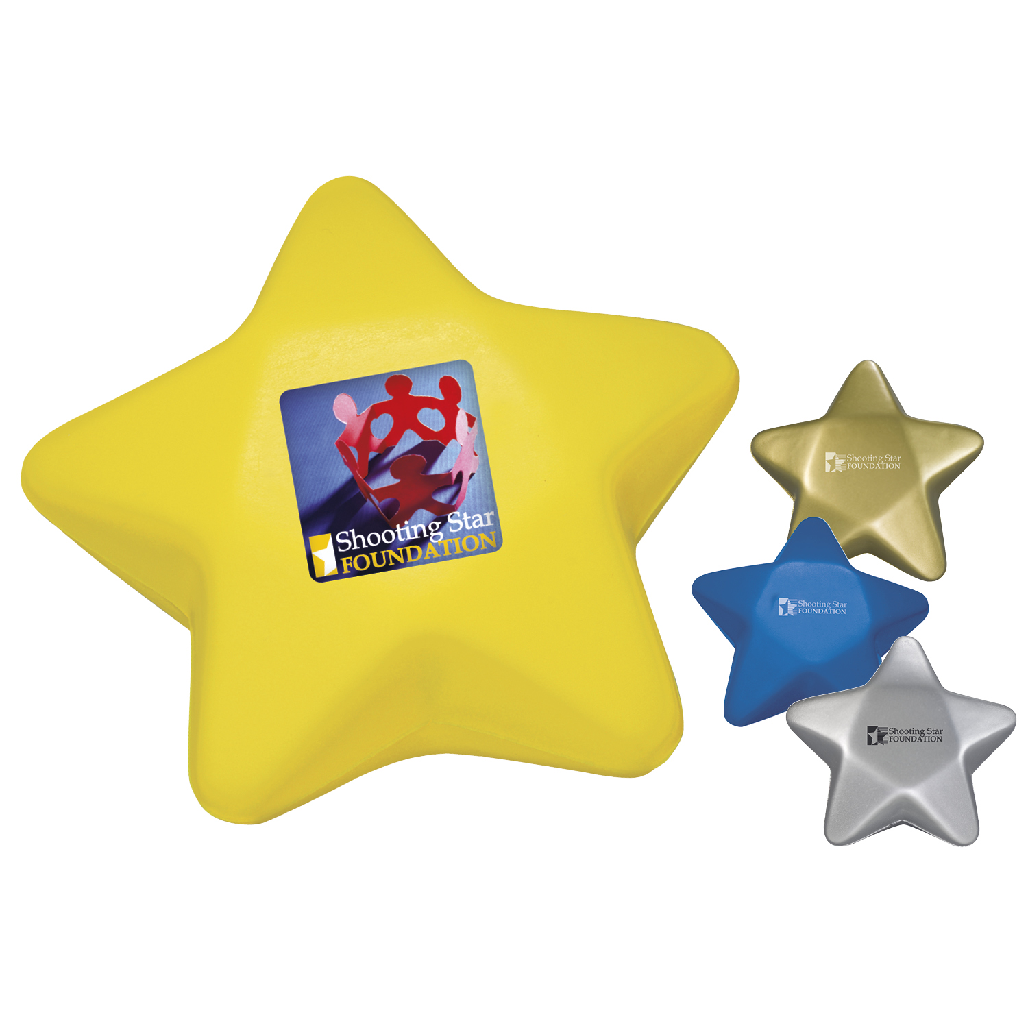 Star Stress Ball - 1 Colour Imprint