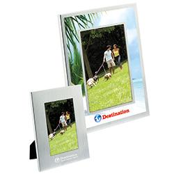 Basic Brushed Aluminum Frame (4