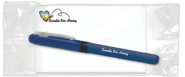 BIC Clic Stic Pen w/ 50 Sheet Notepad (5