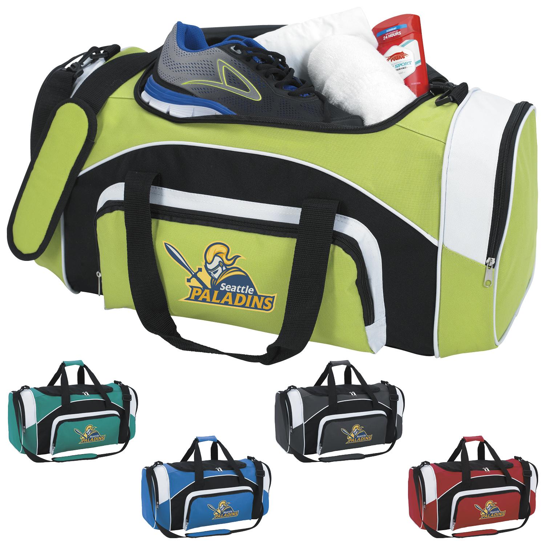 Atchison Kadin Sport Duffel Bag - 1 Colour Imprint
