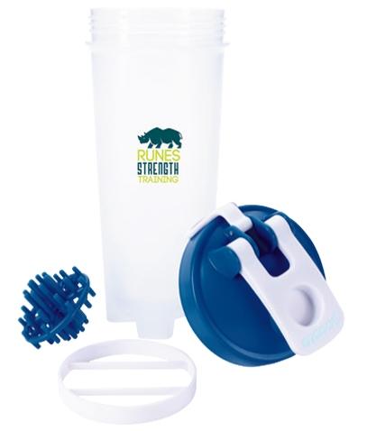 O2COOL 30 Oz. Shaker Bottle - 1 Colour Imprint