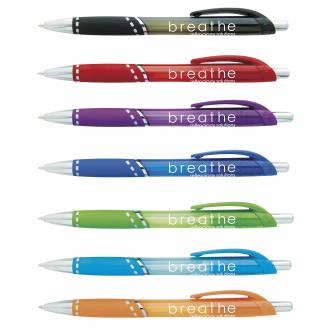 Lace Translucent Ballpoint Pen - 1 Colour Imprint