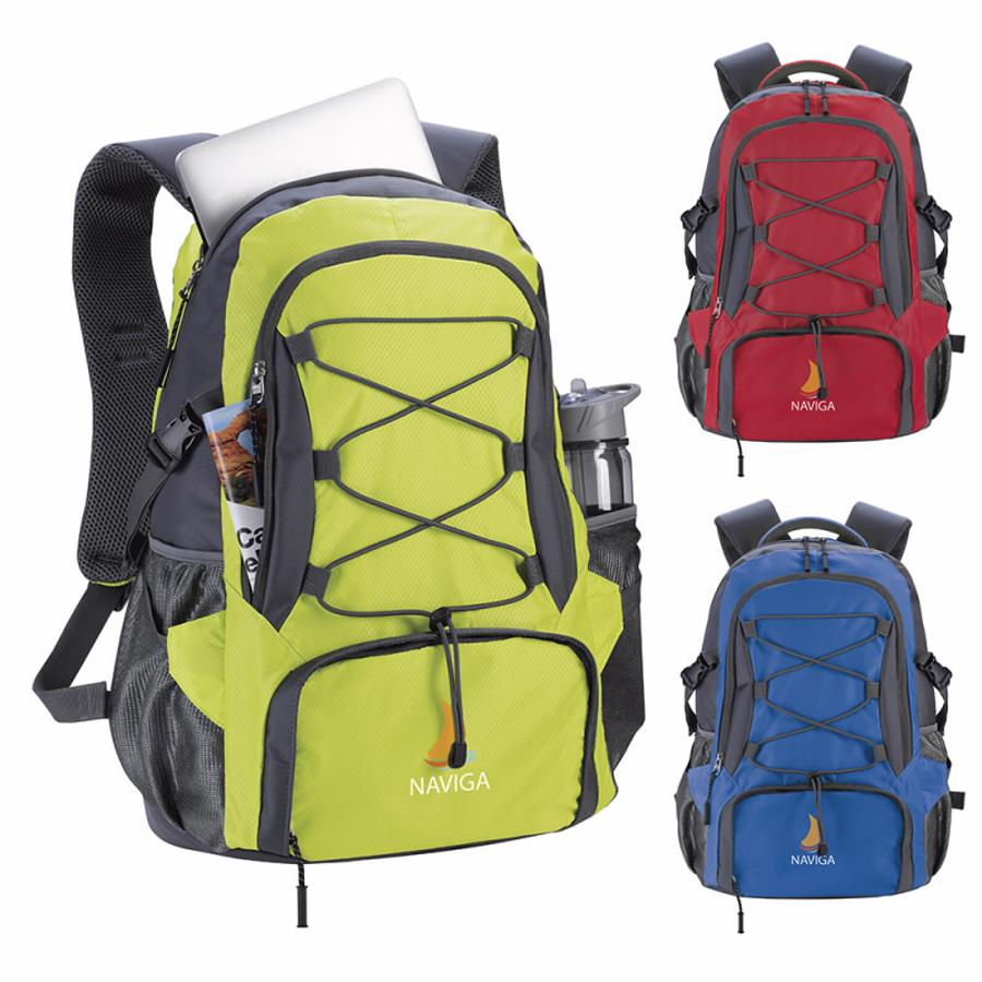 Atchison Wanderer Daypack Bag - 1 Colour Imprint