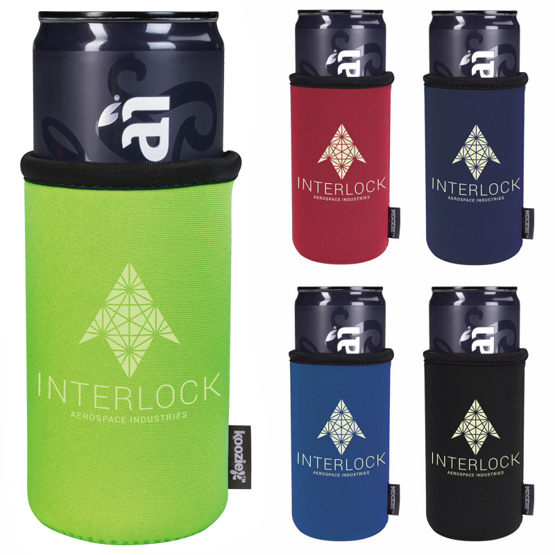 KOOZIE Slim Can Kooler, #46206, 1 Colour Imprint