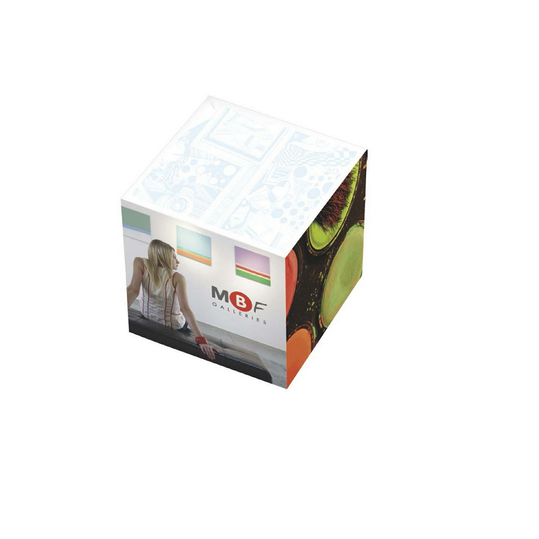 BIC Non-Adhesive Cube Pads (2 3/8
