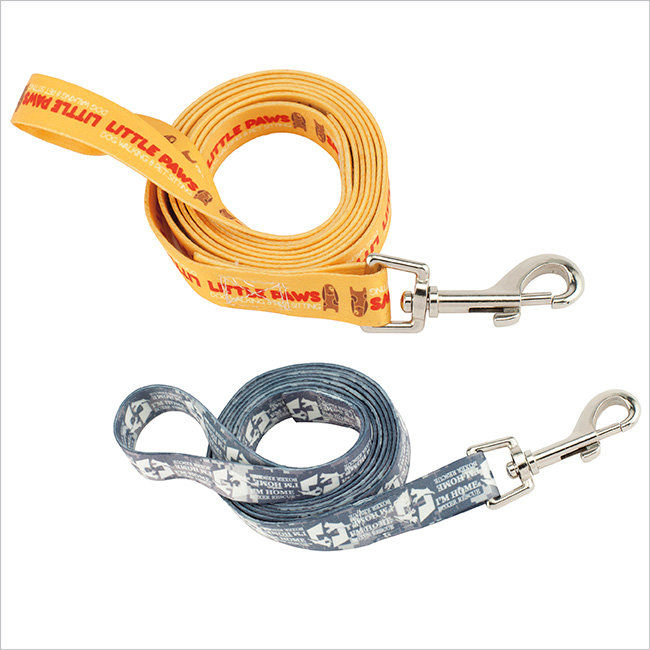 Fine Print Pet Leash - Full Colour Imprint