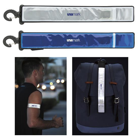 Fitness Flashing Armband w/Bag Tag, #41116, 1 Colour Imprint