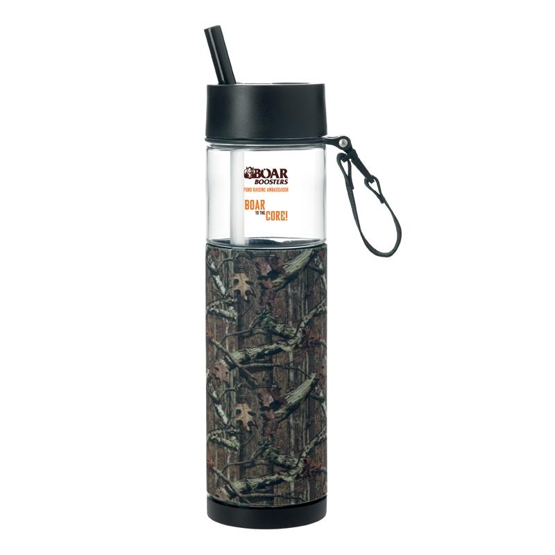 Mossy Oak 24 Oz. Sport Bottle w/ Sleeve - 1 Colour Imprint