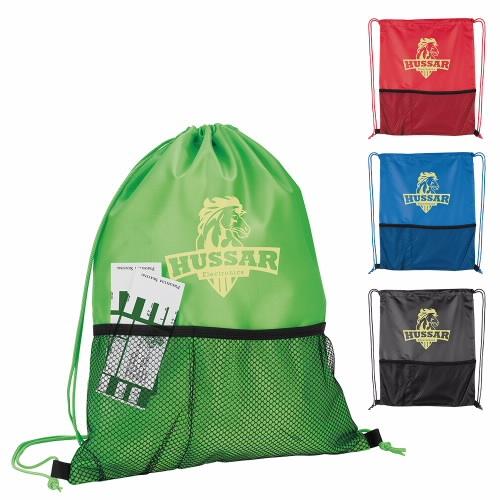 Half-Time Mesh Backpack - 1 Colour Imprint