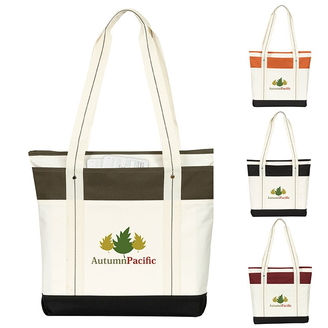 Atchison Hamptons Getaway Tote Bag - 1 Colour Imprint