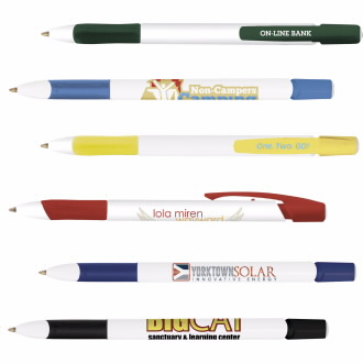 BIC Media Clic Grip Pen, #MCG, 1 Colour Imprint