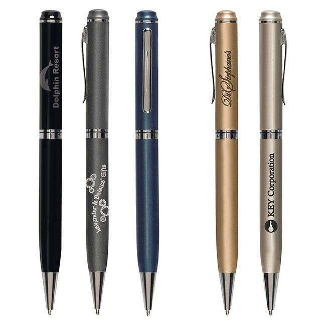 Premier Twist Ballpoint Pen - 1 Colour Imprint, #55031