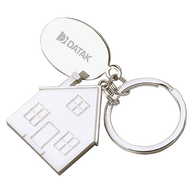 House Tag Keyholder - Laser Engraved Imprint