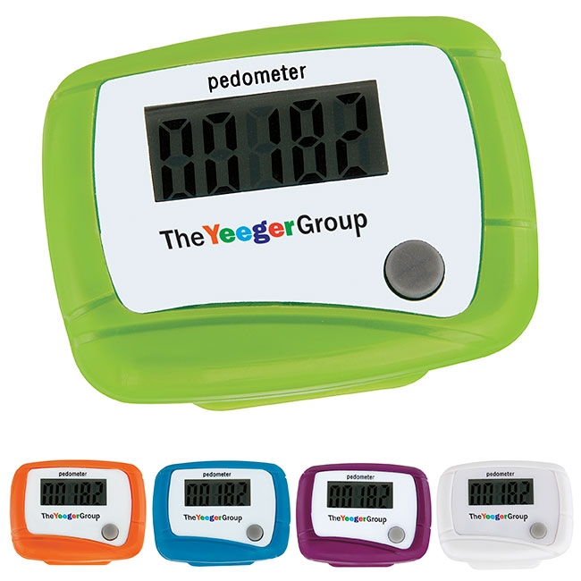 Value Pedometer - Full Colour Imprint