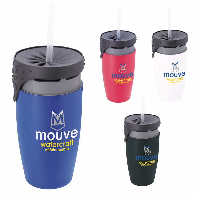 12 Oz. neolid Twizz Double Wall Tumbler, #46168, 1 Colour Imprint