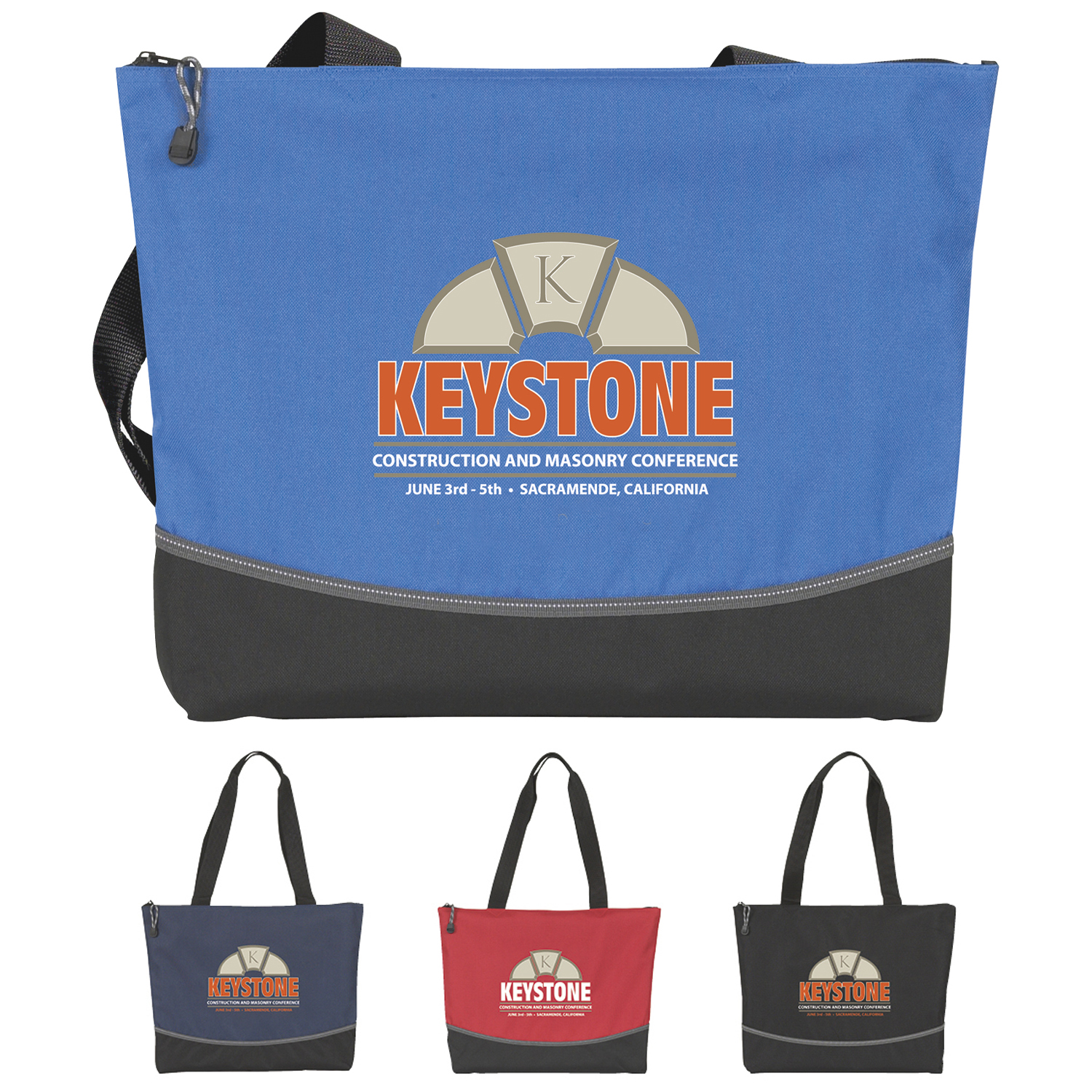 Atchison Indispensable Everyday Tote Bag - 1 Colour Imprint